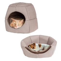 PETMAKER 2 in 1 Convertible Pet Bed- Cat, Kitten or Small Do