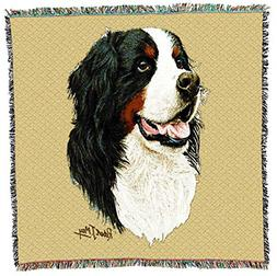 Pure Country 1153-LS Bernese Mountain Dog Pet Blanket, Canin