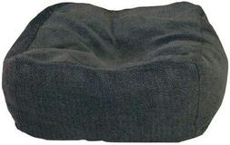 12 in thick cuddle cube large gray