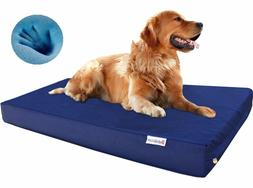 1680 Ballistic Strong Waterproof Gel Cooling Memory Foam Pet
