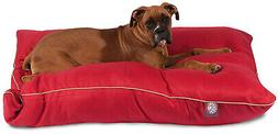 35x46 Red Super Value Pet Dog Bed By Majestic Pet Products L