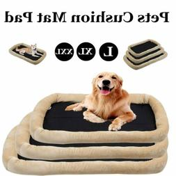 """36""""-48"""" Dog Bed Pet Lounger Deluxe Cushion Cat's Cage Soft C"""