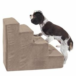 Majestic Pet 4 Step Stone Suede Pet Stairs Products