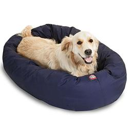 Large 40 Bagel Bed - Blue