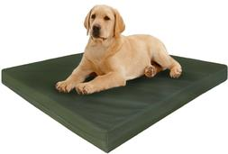 "47X29X4"" Extra Large Orthopedic Canvas Memory Foam Pet Dog B"