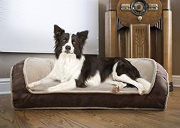 Arlee 59-00998CHO Deep Seated Lounger Sofa Pet Bed, Small/Me