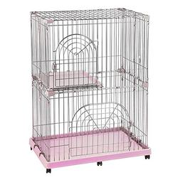 Iris Wire Pet Cage/Cat Playpen - 2-Tier