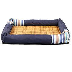 Panda Superstore MidWest Deluxe Bolster Pet Sofa/Cool Bed Fo