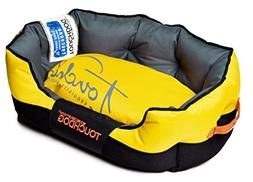 Performance-Max Sporty Dog Bed, Large , Yellow