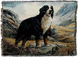 Pure Country Weavers - Bernese Mountain Dog Woven Tapestry T