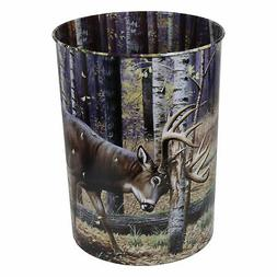 River's Edge Products Hunting Themed Waste Basket
