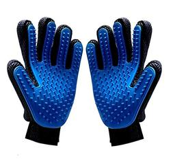 SunPet4u Pet Grooming Gloves For Dogs Cats And Horses-One Pa