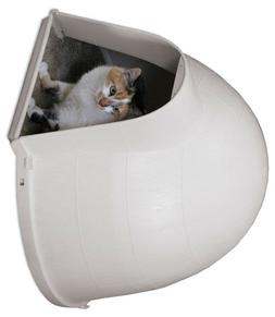 Svitlife Outdoor Kitty Cat Igloo with Carpeted Floor Cat Kit