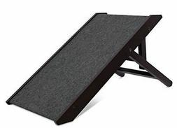 Internet's Best Adjustable Pet Ramp | Decorative Wooden Fold