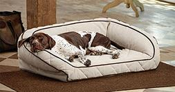 Orvis Airfoam Bolster Dog Bed Cover/Medium Dogs 40-60 Lbs, S