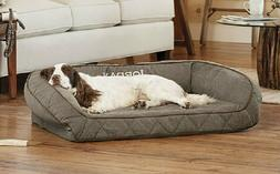 Orvis AirFoam Bolster Dog Bed for SMALL DOGS up to 40 LBS co