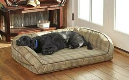 ORVIS AIRFOAM BOLSTER DOG BED for SMALL DOGS up to 40 LBS.