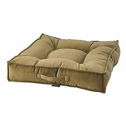 Bowsers Amber Microvelvet Piazza Dog Bed
