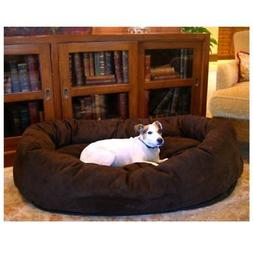 Majestic Pet Bagel Dog Pet Bed - Suede