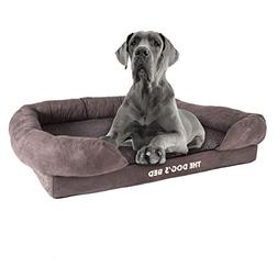 The Dog's Bed, Orthopedic Premium Memory Foam Waterproof Dog