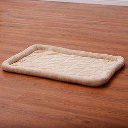 Generic Beige Pet Dog Cat Bed Cushion Mat Pad Kennel Crate C