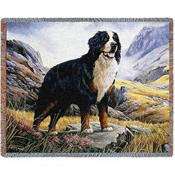 Pure Country Weavers Bernese Mountain Dog Blanket 1935-T 54
