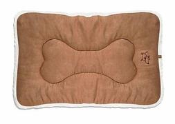 Best Pet Supplies CRATE MAT LIGHT BROWN Reversible Suede Dog