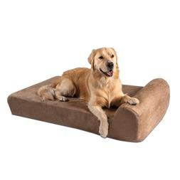 Big Barker Orthopedic Dog Bed: Headrest Edition. For Large a