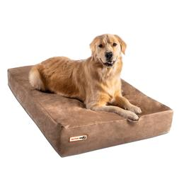 Big Barker Orthopedic Dog Bed: Sleek Edition. For Large and