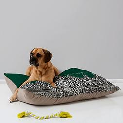 Deny Designs Bird Ave Baylor University Green Pet Bed, 40 by