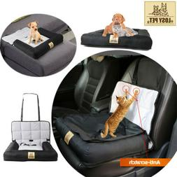 Black Water Resistant Pet Car Travel Cushion Bed Dog/ Puppy