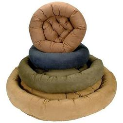 Snoozer Bolster Round Pet Dog Bed - Small - Dark Chocolate