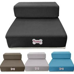 Breathable Mesh Foldable Pet Stairs Detachable Pet Bed Stair