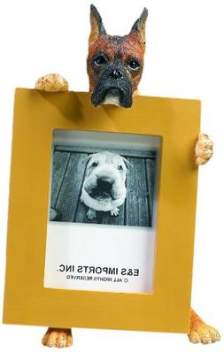 Brindle Boxer Picture Frame Holds Your Favorite 2.5 by 3.5 I