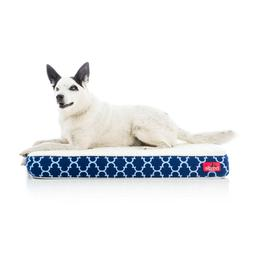 Brindle Waterproof Designer Memory Foam Pet Bed Washable Sty