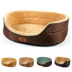 Dog Nesting Bed Brown High End Double Sided Small Medium Lar