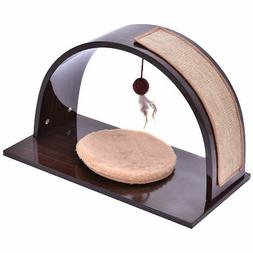 Brown Pet Climber Cat Dog Puppy Home Furniture Play Toy Scra