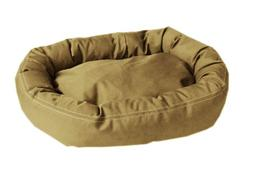 CPC Brutus Tuff Comfy Cup Pet Bed, 36-Inch, Khaki