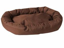 CPC Brutus Tuff Comfy Cup Pet Bed, 42-Inch, Chocolate