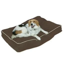 Buster Dog Pillow Size: Small , Color: Cocoa