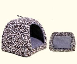 Canopy Mongolian Tent Bed for Dog Cat Small Animal Pet with