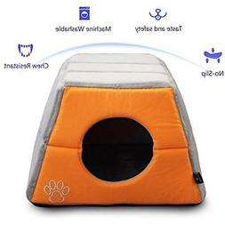 Cat Beds Or Dog Easy-to-Clean, 100% Machine Washable  Pet Su