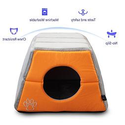 Cat or Dog Bed Easy-to-Clean, 100% Machine Washable