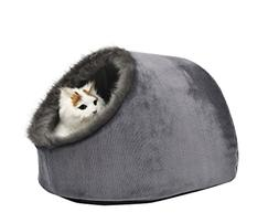 VERTAST Cat Small Dog Cosy Bed Pets Igloo Bed Hideout Cave,