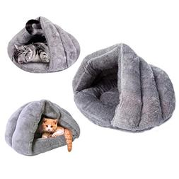 Cat Cave Small Dog Bed Cave Self Warming Cat Bed Fleece Cat