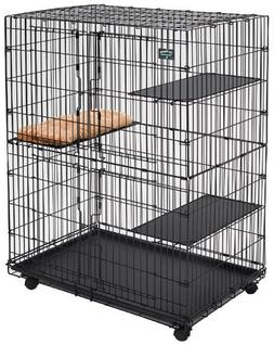 MidWest Cat Playpen / Cat Cage Includes 3 Adjustable Resting