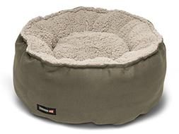 Big Shrimpy Catalina Plush Pet Bed for Cats and Small Dogs,