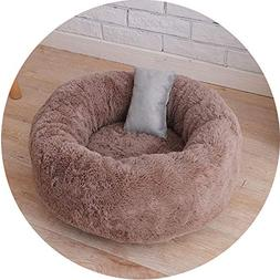 CAVOAS pet-beds Warm Plush Indoor Cat House Kennel Dog Bed f
