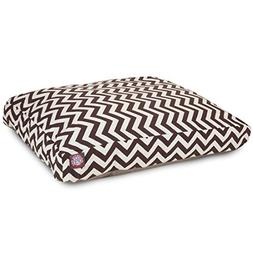 Chocolate Chevron Extra Large Rectangle Indoor Outdoor Pet D