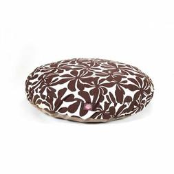 Chocolate Plantation Large Round Indoor Outdoor Pet Dog Bed
